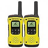 Motorola A9P00811YWCMAG, Walkie Talkie, 2 Unidades, Amarillo/Negro