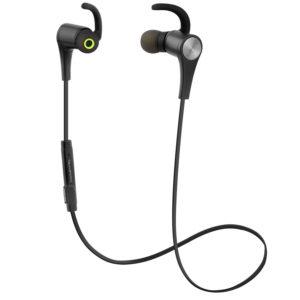 Los SoundPEATS Q12 son unos auriculares bluetooth con un diseño ergonómico y ligero, una calidad de sonido excelente y un inteligente sistema de unión magnética. Son una excelente opción para tu sesión de running, o cualquier tipo de actividad deportiva.