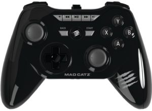 La Mojo de Mad Catz es una consola android ensamblada en una pequeña y elegante caja metálica negra y un mando inalámbrico. Ésta microconsola se conecta a tu televisión y ofrece juegos Android, centro multimedia, entre otras maravillas.