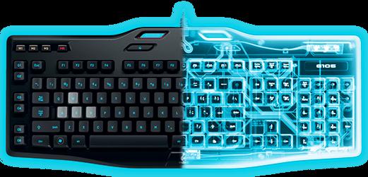 El Logitech G105 es un teclado de gaming, que a diferencia de otras opciones de la misma compañía, hace uso de membrana. Hablar de Logitech es hablar de calidad, y este teclado lo confirma.