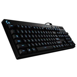 El Logitech G810 Orion Spectrum es el hermano menor del ya revisado G910. Este teclado mecánico es parte de la gama económica de periféricos para el juego de Logitech, que afortunadamente hacen uso de los switches Romer G.